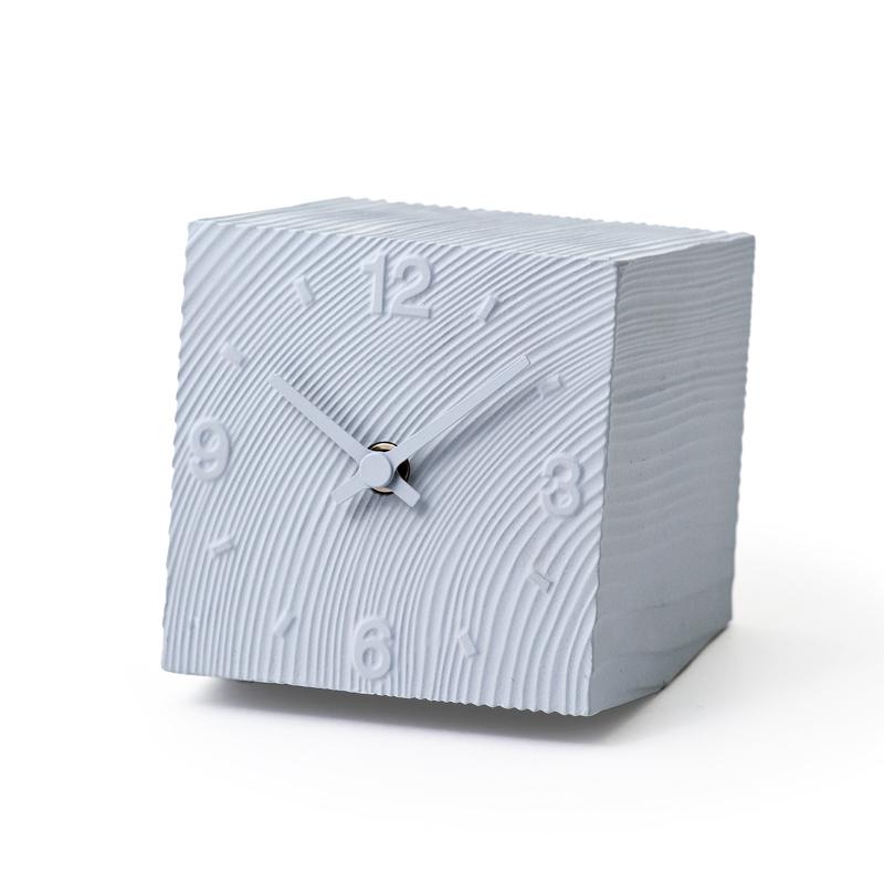 【500円クーポン対象】レムノス cube グレー 置き時計 壁掛時計 壁掛け AZ10-17GY おしゃれ かわいい Lemnos 日本製 モダン 北欧スタイル AZUMI 安積朋子 置き時計 デザイナーズ デザイン シンプル 誕生日 結婚祝い 出産祝い 引越し祝い 改装祝い 送別 退職 内祝い 新築祝い