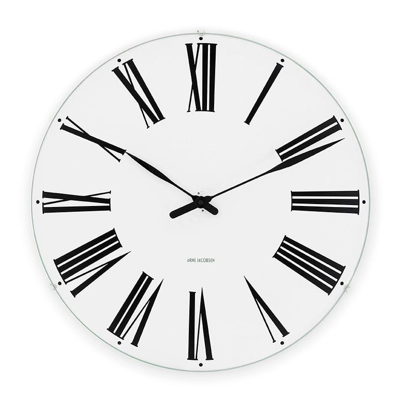 アルネヤコブセン 時計 ローマンクロック 160mm 掛け時計 Roman 43622 おしゃれ かわいい ポイント消化 ARNE JACOBSEN 壁掛け時計 ウォールクロック Wall Clock 北欧デザイン デザイナーズ モダン 建築 誕生日 結婚祝い 出産祝い 引越し祝い 改装祝い 送別 退職 内祝い 新築