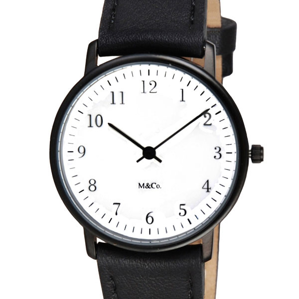 【10%OFFクーポン対象】M&Co 腕時計 7401 Bodoni ユニセックス ボドニ ティボール・カルマン Tibor Kalman 時計 7401 おしゃれ かわいい ボドニ ティボール・カルマン Tibor Kalman 時