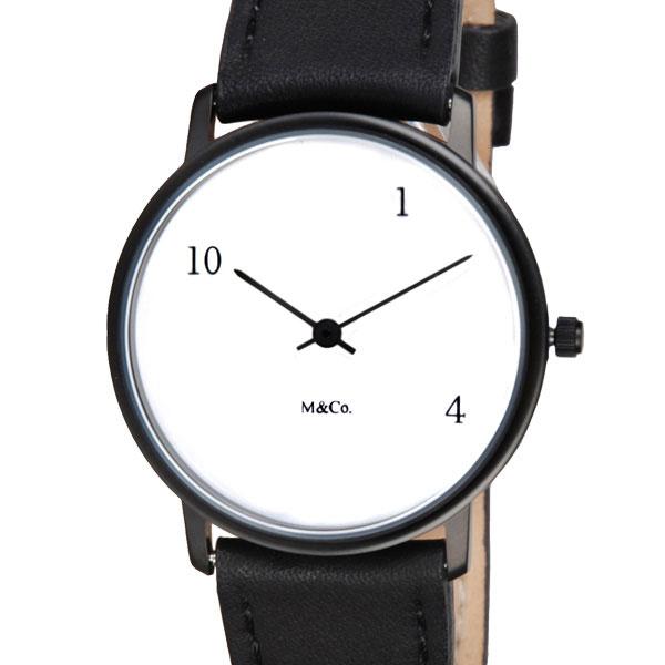【10%OFFクーポン対象】M&Co 腕時計 7402 10-1-4 ユニセックス テン-ワン-フォー ティボール・カルマン Tibor Kalman 時計 7402 おしゃれ かわいい テン-ワン-フォー ティボール・カル