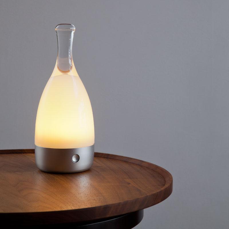 ambientekku Bottled botorudokodoresurampu Ambientec LED间接灯电灯蜡烛白色情人节