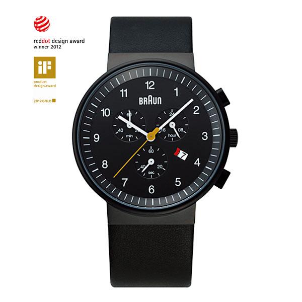 【10%OFFクーポン対象】ブラウン 腕時計 BNH0035 ブラック メンズ 時計 BNH0035BKBKG おしゃれ かわいい フォーマル BRAUN 時計 デザイン デザイナーズ ブラウン時計 ブラウン腕時計 ブランド ドイツ ヨーロピアン