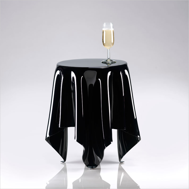 Essey Illusion Table Black Essey Essay Illusion Side Tables Furniture Table  Desk Gadgets