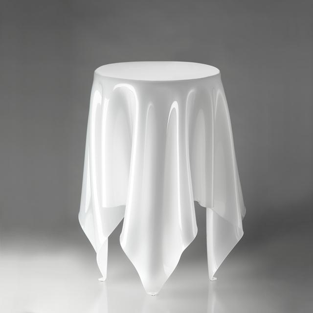 【エントリーで5倍】essey Tall Illusion サイドテーブル ホワイト エッセイ トールイリュージョン 白い ESY-04-0025 おしゃれ かわいい エッセイ トールイリュージョン 白い テーブル デザイナーズ 家具 机 ヨーロッパ