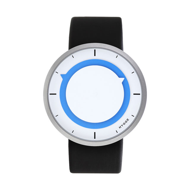 【10%OFFクーポン対象】ヒュッゲ 3012 White Blue 腕時計 ユニセックス HGE-02-0026 おしゃれ かわいい フォーマル HYGGE 時計 デザイン デザイナーズ 北欧デザイン モダン 時計 ブラン