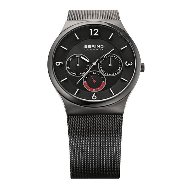 c1a1407e95 ベーリングMensSapphireGlassCeramic33440-077グレー腕時計メンズ【BERING男性デザイナーズウォッチ服飾雑貨リストウォッチ  ...
