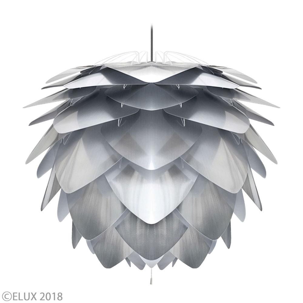 【エントリーで5倍】UMAGE(ウメイ) Silvia スチール 3灯ペンダント(ブラックコード) ペンダントライト 02053-BK-3 おしゃれ かわいい VITA ヴィータ デンマーク 照明器具 シーリングライト ライト ランプ 北欧 モダン シンプル 間接照明 天井照明