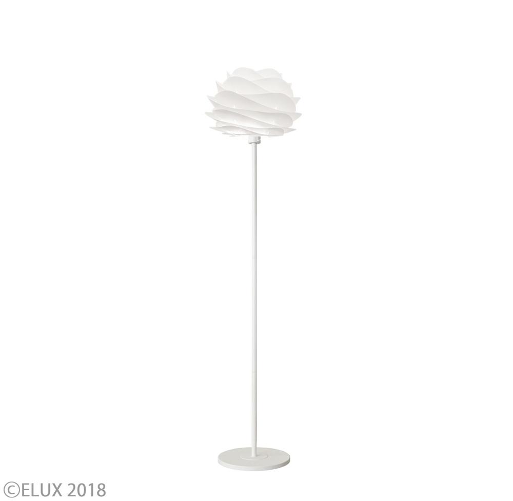 UMAGE(ウメイ) Carmina mini フロア ホワイト(ホワイトベース) フロアライト 02057-FL-WH 就職祝い 卒業祝い おしゃれ かわいい VITA ヴィータ デンマーク 照明器具 シーリングライト ライト ランプ 北欧 モダン シンプル 間接照明 天井照明 誕生日 結婚祝い 出産祝い