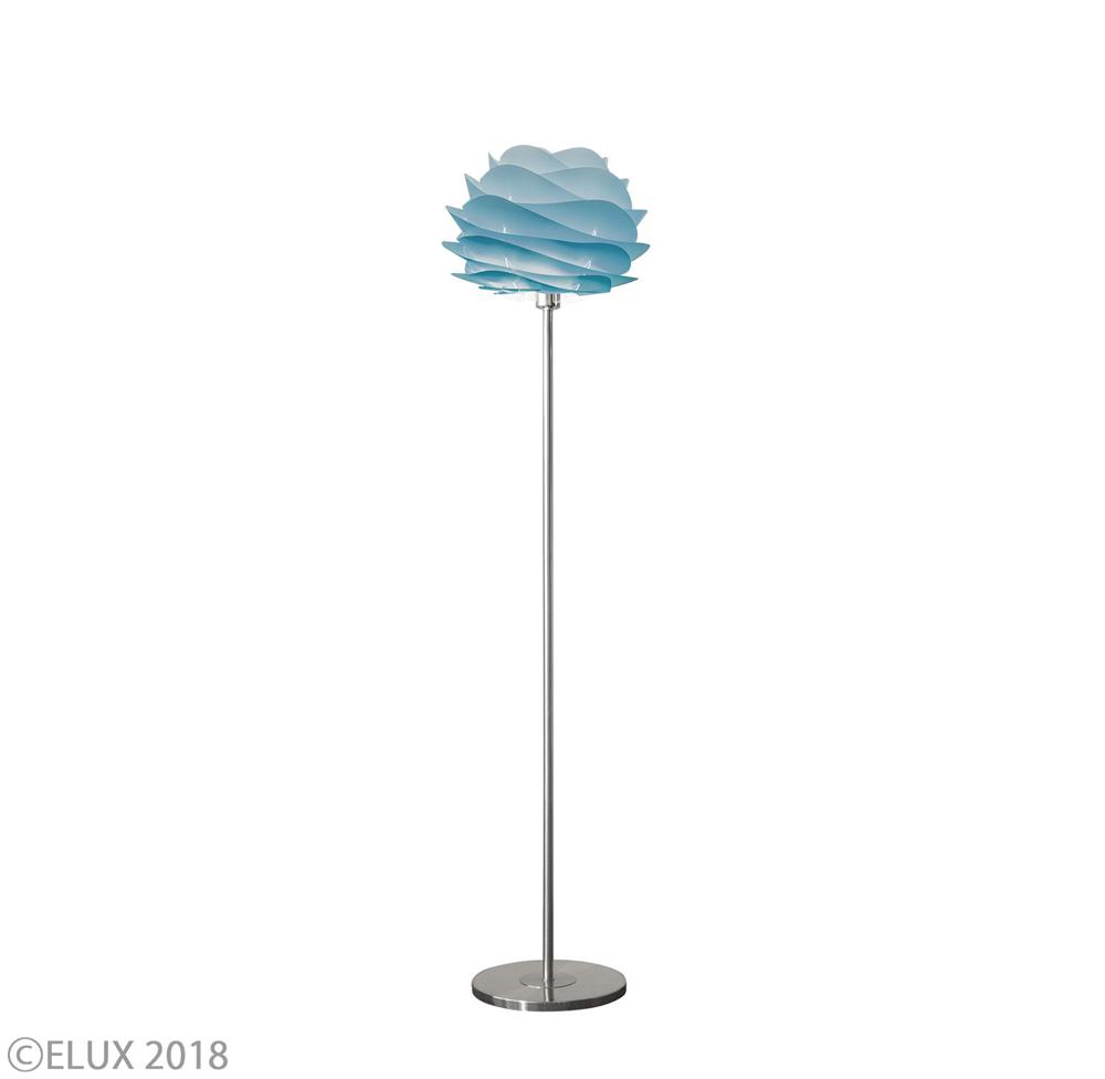 UMAGE(ウメイ) Carmina mini フロア アズール(シルバーベース) フロアライト 02061-FL-SV 就職祝い 卒業祝い おしゃれ かわいい VITA ヴィータ デンマーク 照明器具 シーリングライト ライト ランプ 北欧 モダン シンプル 間接照明 天井照明 誕生日 結婚祝い 出産祝い