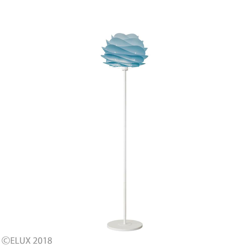 UMAGE(ウメイ) Carmina mini フロア アズール(ホワイトベース) フロアライト 02061-FL-WH 就職祝い 卒業祝い おしゃれ かわいい VITA ヴィータ デンマーク 照明器具 シーリングライト ライト ランプ 北欧 モダン シンプル 間接照明 天井照明 誕生日 結婚祝い 出産祝い