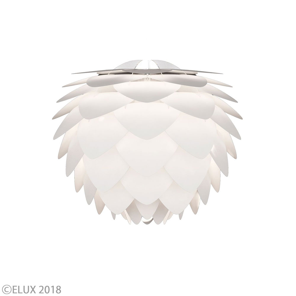 【エントリーで5倍】UMAGE(ウメイ) Silvia mini セード単体(灯具別売) ホワイト シェード 2009 おしゃれ かわいい VITA ヴィータ デンマーク 照明器具 シーリングライト ライト ランプ 北欧 モダン シンプル 間接照明 天井照明