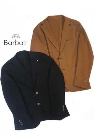 【2020SS◇NEW】Barbati ストレッチアンコンジャケット モデル:GI-MARTINK(2col.)120761◆送料無料◆