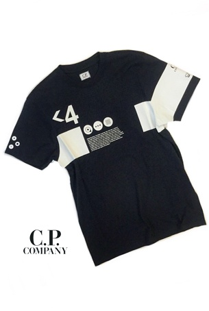 【2020SS◇NEW】C.P.COMPANY Jersey 30/1 Graphic Crew T-shirt(1col.)08CMTS170A◆送料無料◆