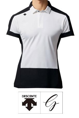 【2020SS◇NEW】DESCENTE GOLF ラボパターン ショートスリーブシャツ(1col.)DGMPJA02◆送料無料◆