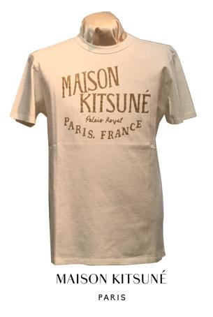 MAISON KITSUNE TEE-SHIRT PALAIS ROYAL(1col.)DM00123KJ0008◆送料無料◆