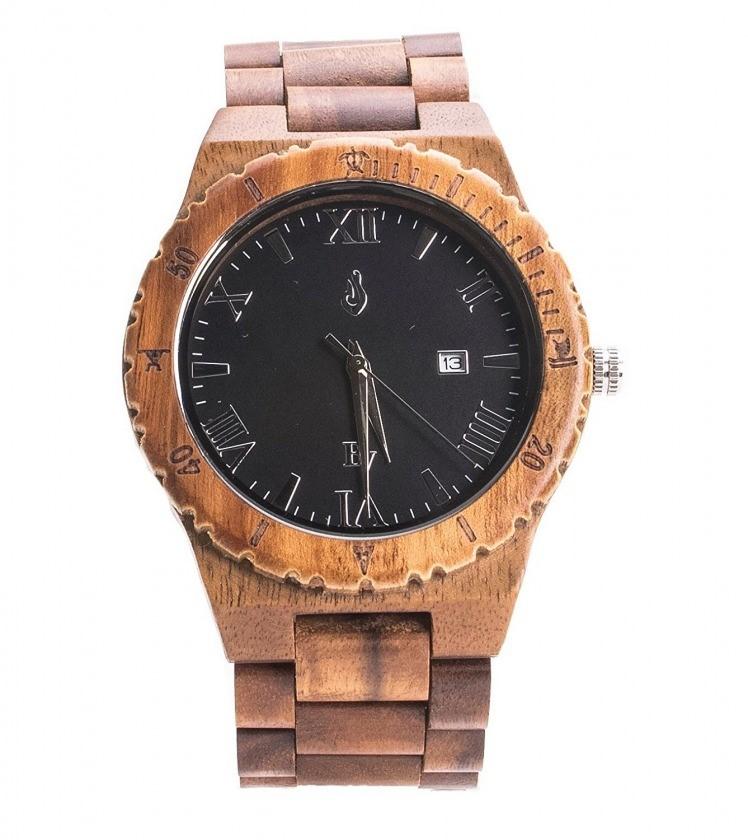 Bean & Vanilla 腕時計 HLW002-1 ハワイアンコアウッド ビーン&バニラ オアフ島発 木製 ウォッチ