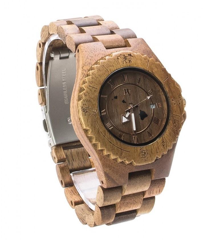 Bean & Vanilla 腕時計 HLK1001-1 ハワイアンコアウッド ビーン&バニラ オアフ島発 木製 ウォッチ