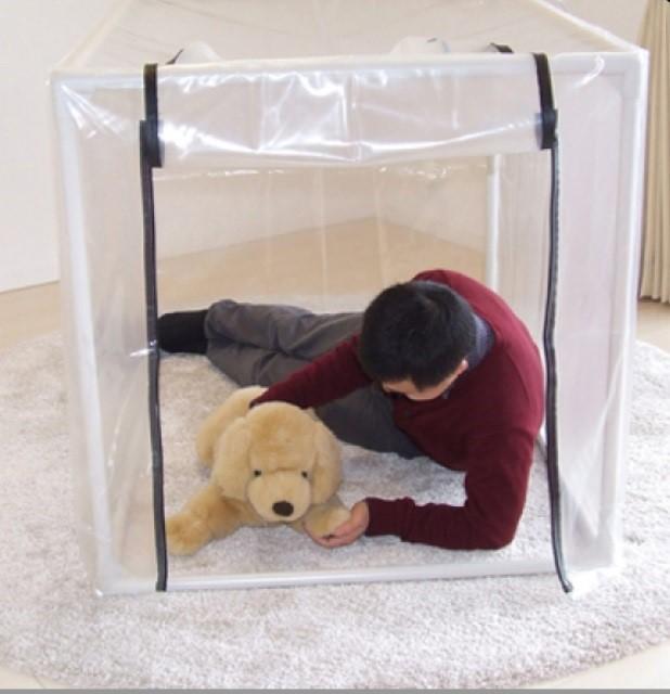 ペット用酸素室 ペット オキシ ホテル【L~LLサイズ】90×125×90cm 大、超大型動物用 酸素ケージ/酸素テント/酸素カプセル