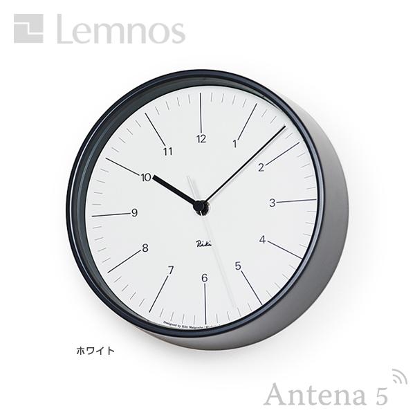 ★《全3色》Lemnos RIKI STEEL CLOCK 【タカタレムノス リキクロック 壁掛け時計 壁時計 デザイン雑貨 北欧 ウォールクロック】*受注後に納期をご連絡いたします。