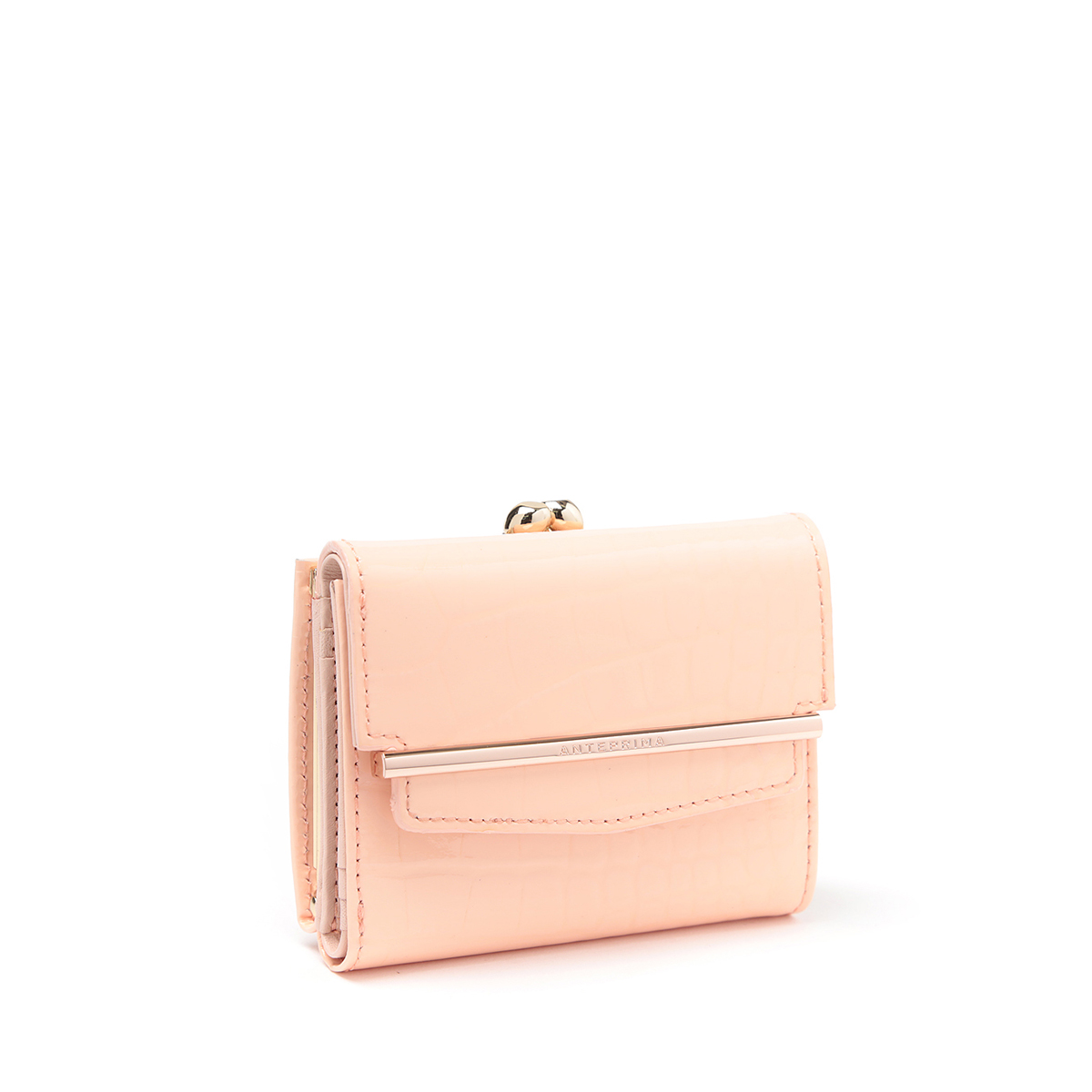 【ANTEPRIMA公式】アンテプリマ アネッロ 三つ折りウォレット ライトピンク ANTEPRIMA EANP10523 SMALL WALLET