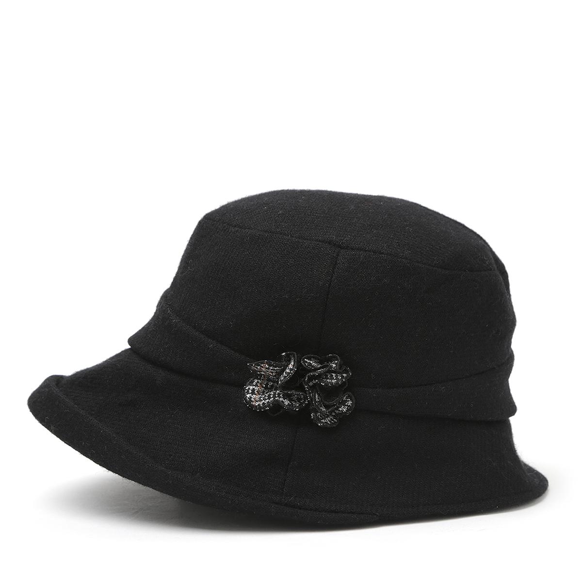 アンテプリマ/ファッショングッズ/帽子 【ANTEPRIMA公式】アンテプリマ/フィオーリエッジアップクロッシェ/ブラック/ANTEPRIMA/E4AN183950/BLACK