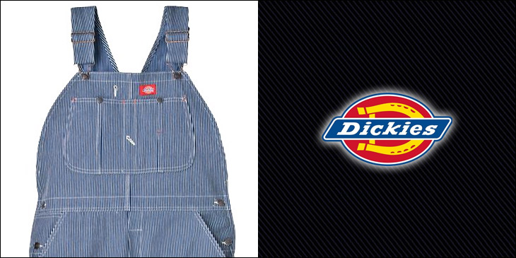[Dickies] [Dicies] Country USA model ☆ prompt transmission * (book: 1 / in-sequential delivery appointment 1 / at the end of) ☆ «color» Dickies (Dickies) /Hickory Stripe Bib Overall (83297) [83297 Dickies Dickies 83297 workpants chinos,