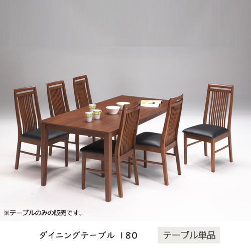 【送料込】 ダイニングテーブル 180 木製 北欧風 6人掛け 六人掛け ブラウン アンティーク風 レトロ 食卓テーブル テーブル単品 ゆったり 人気 シンプル モダン オシャレ おしゃれ gkw