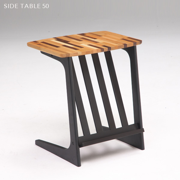 【送料込】 アンティーク風 サイドテーブル 50 モザイク風 木製 モザイク柄 北欧風 コーヒーテーブル ベッドテーブル ソファテーブル カフェテーブル ティーテーブル 50cm レトロ 個性的 モダン かわいい おしゃれ