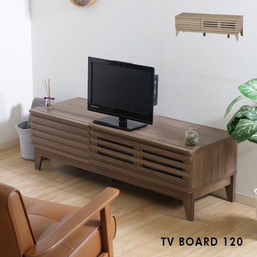 【送料込】 テレビボード 120 北欧風 木製 TVボード ローボード 収納 tvボード テレビ台 引出し AV収納 シンプル アンティーク風 ブラウン ナチュラル 120cm レトロ おしゃれ 送料無料