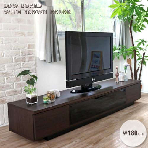 テレビボード 180 テレビ台 おしゃれ 幅180cm アンティーク 北欧風 完成品 木製 ローボード TVボード 収納 多い 強化ガラス 引出し ブラウン モダン tv台 コンパクト おすすめ 送料無料 gkw