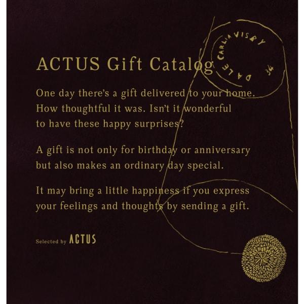送料無料|ACTUS(アクタス) ギフトカタログ <Edition D_B>【結婚内祝い 出産内祝い 結婚祝い その他お返しにおすすめなカタログギフト】ダークブラウンエディション|※平日9時まで当日出荷(カード限定)※包装のしメッセージカード無料対応
