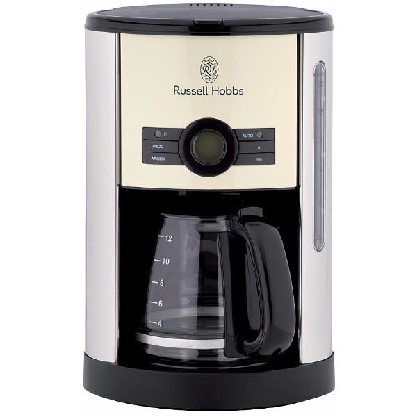 送料無料|Russell Hobbs / ヘリテージコーヒーメーカー(クリーム)|※包装のしメッセージカード無料対応
