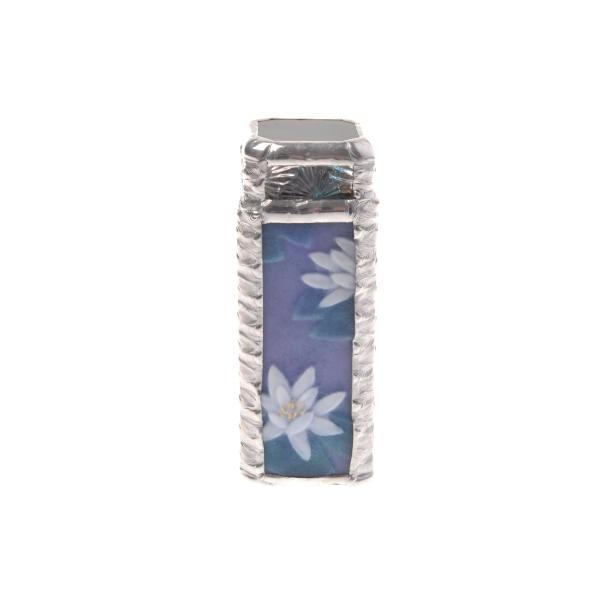 送料無料|万華鏡工房みずあめや 万華鏡L 睡蓮紫|※包装のしメッセージカード無料対応