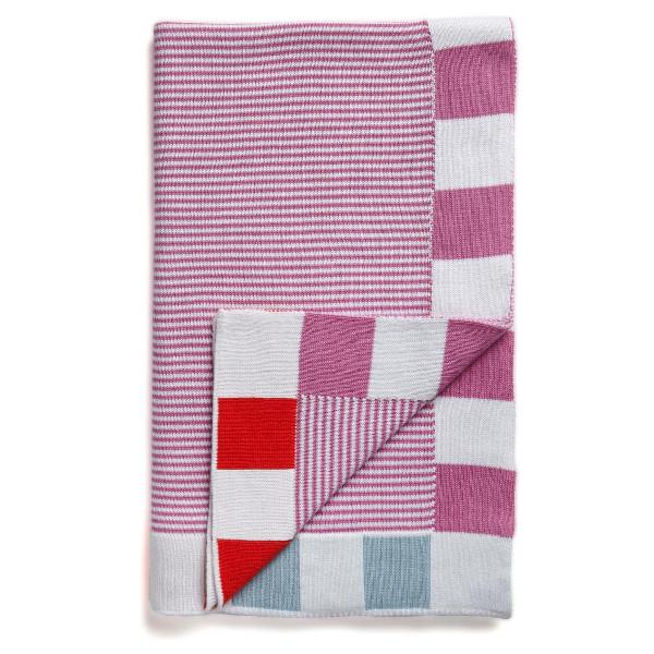 送料無料|SUNDAY baby blanket Pink|※包装のしメッセージカード無料対応