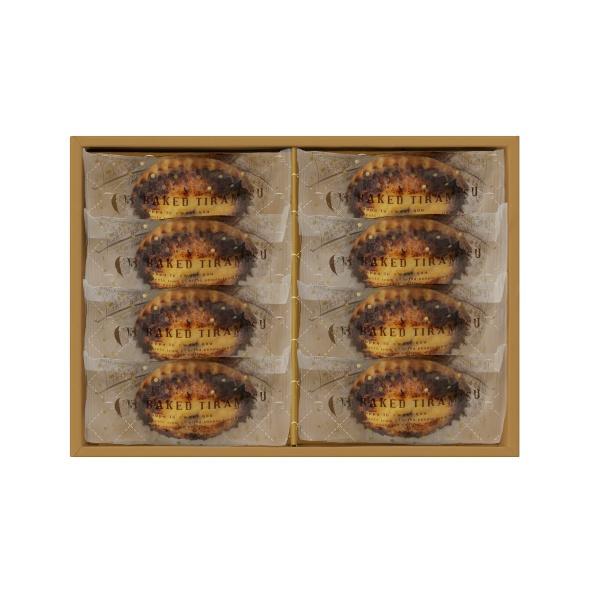 ティラミスが しっとり ふんわりの焼き菓子に 送料込 C3 焼きティラミス 品質保証 8個入り 定型文メッセージカード○ 本体1296円 送料660円 のし× 包装× 格安店 ショッピングバッグ付き