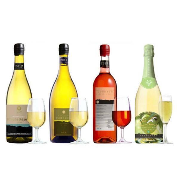 都農ワイン / 受賞ワイン4本セット(ワインポアラー付き)