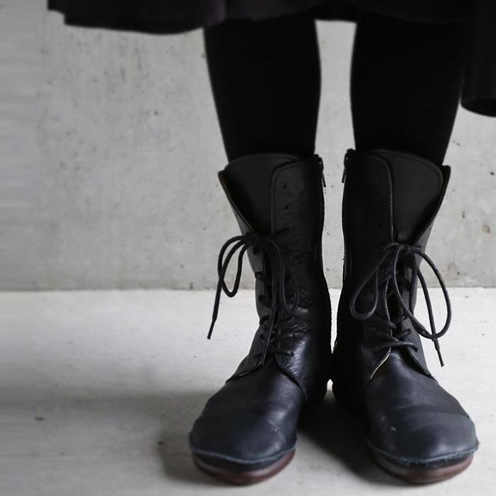 日本製。今年も傑作と呼べる革本来の風合い、本革ブーツ・再再販。「G」##×メール便不可!