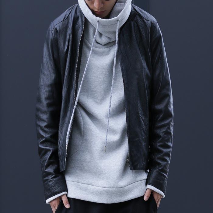 ホンモノの良さ際立つ本革Jacket。ラムレザージャケット・再販。「G」##×メール便不可!