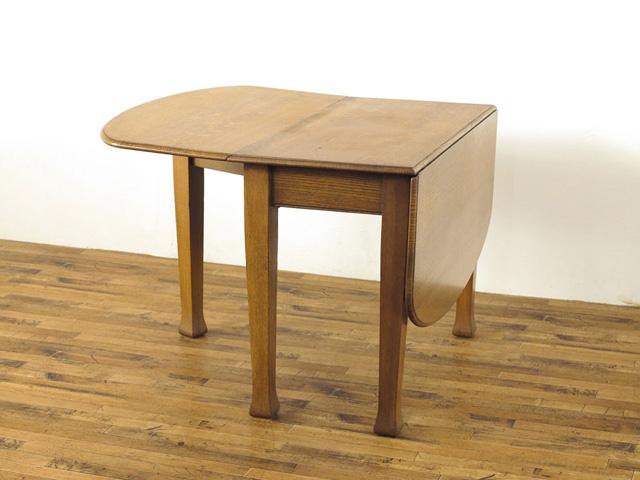 激安お買い得の卸価格!! すっきりとした中にもアーツアンドクラフトの個性 オーク材の美しい木目 ゲートレッグテーブル 毎日新商品更新中! 本物イギリスアンティーク家具 フレックスアンティーク市場