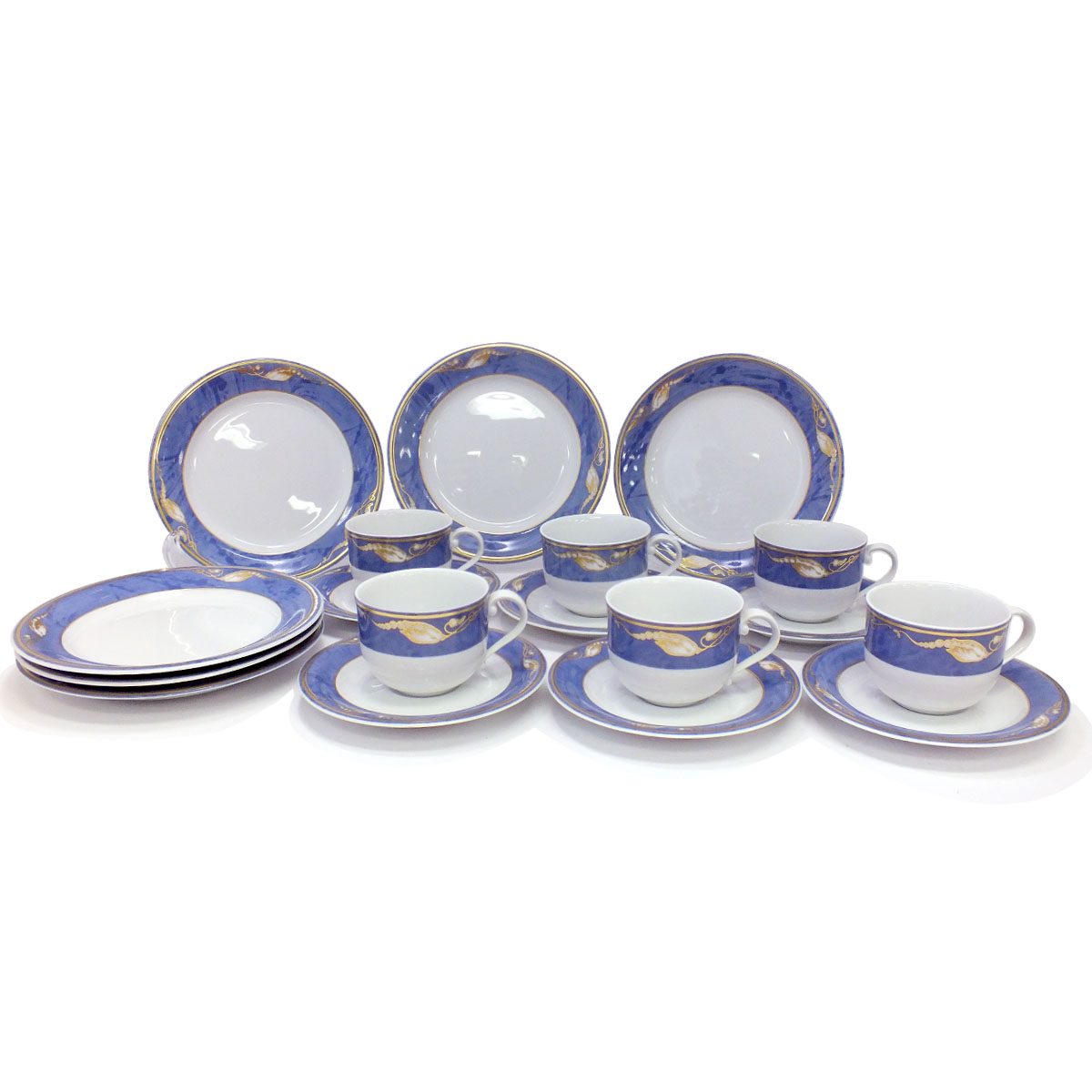 Royal Copenhagen ● cup & saucer six sets cake plate six pieces magnolia  brand West tableware 33499hy