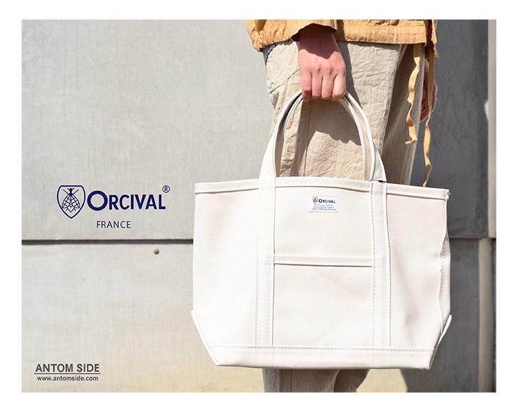 【ORCIVAL / オーチバル オーシバル】キャンバス トートバッグ 中(RC-7042)