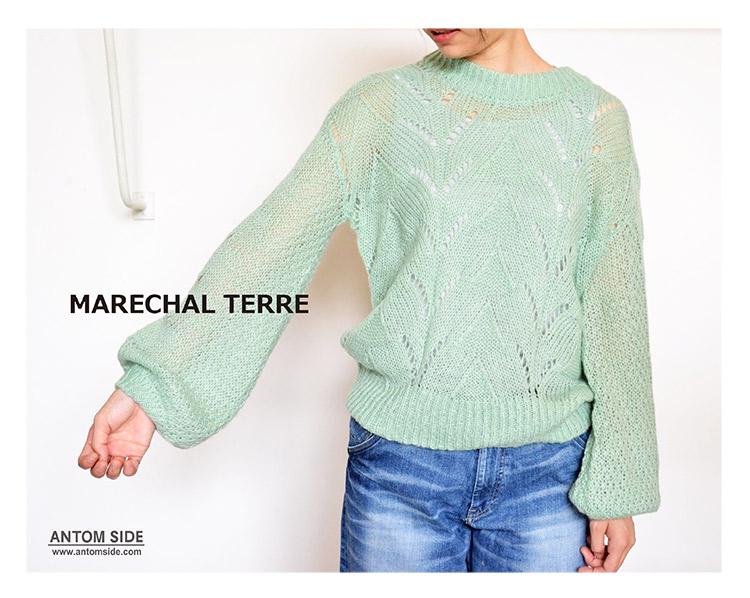 【MARECHAL TERRE/マルシャルテル】モヘアニット(ZMT184KN312)