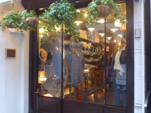 アントニオ洋服店:ドレスからカジュアルまでヨーロッパもの中心メンズショップです。