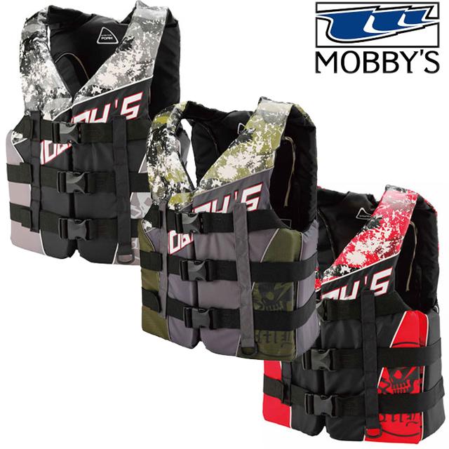 MOBBYS モビーズ COMBAT 3B VEST コンバット スリーバックルベストメンズ ライフジャケット 3バックル JA-7400