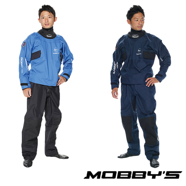 MOBBYS モビーズ T4 シングルハンダー ドライスーツ・ソックスタイプ YW-4400CRドライスーツ フルドライスーツ