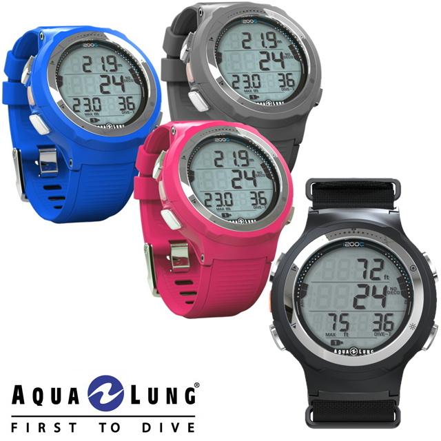 AQUALUNG アクアラング ダイブコンピュータ i200C 2020年モデル腕時計 ダイビング ダイビングコンピューター ダイコンBluetooth搭載 専用アプリへデータ転送可能