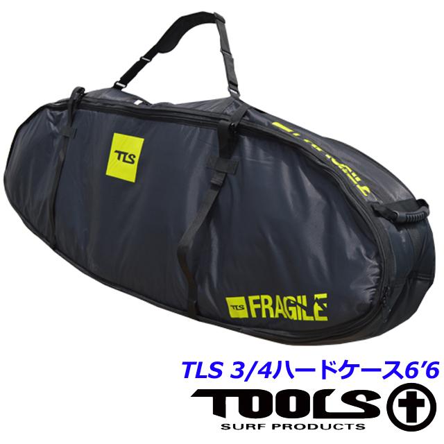 サーフボードケース ボードケース ハードケース ボードカバーTLS 3/4ハードケース6'6 ショートボードTOOLS ツールス