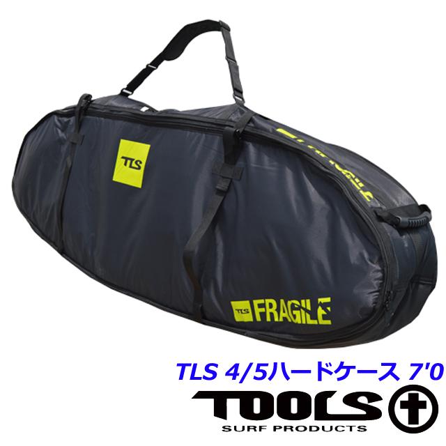 サーフボードケース ボードケース ハードケース ボードカバーTLS 4/5ハードケース 7'0 ショートボードファンボード TOOLS ツールス