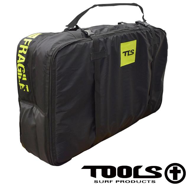 TLS TOOLS 3/4 Travel BB Case ツールス BBケーストラベル ボディーボード ケース ハードケース ボードボードケース 3本 4本 クッション 収納 旅行 バッグ カバン