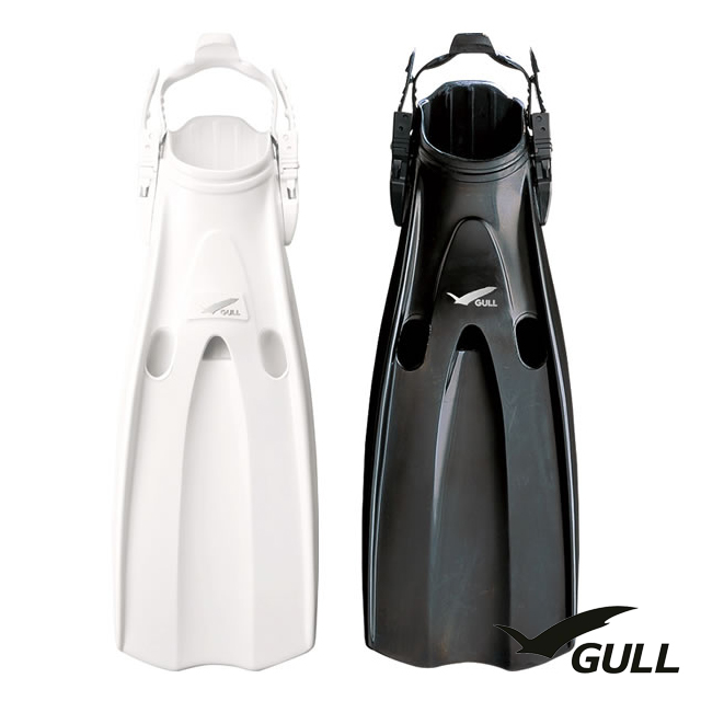 GULL ガル MANTIS FIN マンティス GF-2255【S】2253【M】2252【L】フィン ダイビング オープンヒール ラバーフィン バックル ストラップ